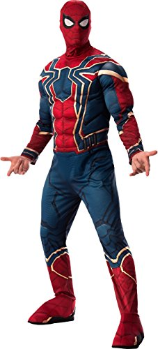 Rubie's Men's Marvel Avengers Infinity War Iron Spider-Man-Man Deluxe Costume, Standard ()