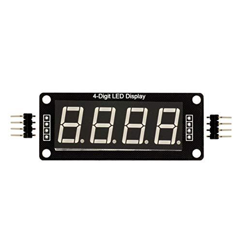 Arduinoのための0.56インチTM1637 4BitデジタルLED 7セグメントクロックチューブ表示