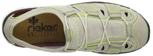 Rieker  L0777 Damen Sneaker Beige (champignon/grey/beige/neongelb 60)
