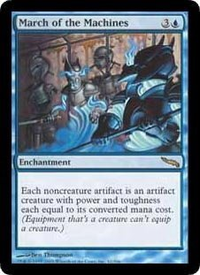March of the Machines (Magic the Gathering : Mirrodin #42 Rare)