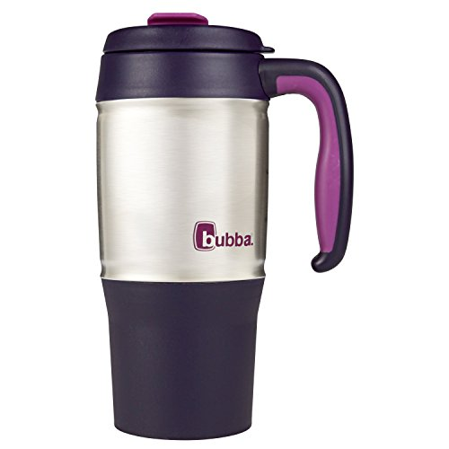 Bubba Classic Foam Insulated Travel Mug with Handle, 18 oz., Royal Purple