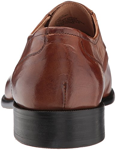 Steve Madden Mens Carlo Oxford Pelle Marrone