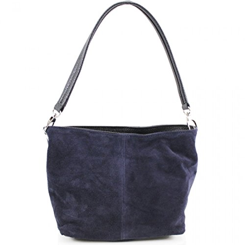 Suede Clutches Bags Italian Women Shoulder Hand Linen Hobos Navy Ladies Galaxy VP57 Leather Bags wBqIzfxS