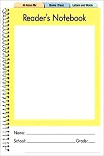 Reader S Notebook PRIMARY K 2 5 Pack
