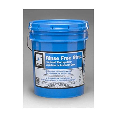 Spartan Rinse Free Strip Finish/Wax Stripper, 5 gal pail by Spartan