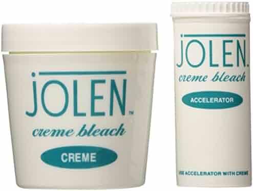 Jolen 4 Ounce Creme Bleach Regular Lightens Excess Dark Hair (118ml)