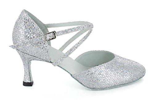 Style4 Joymod Heel 5cm 7 Jazz Damen MGM Silver amp; C Modern XgFnPq