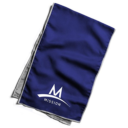 Mission Athletecare Enduracool Varsity Towel, Navy