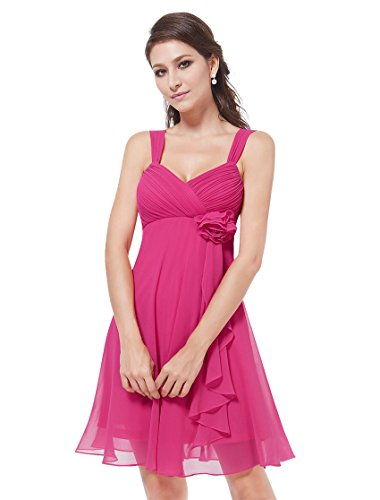 Ever Pretty Womens Short Wedding Dresses For Guests 6 US Hot Pink