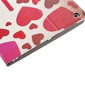 CeeMart Romantic Love Heart Pattern PU Leather Case