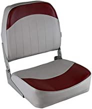 Wise Economy Low Back Seat (Grey/Red)