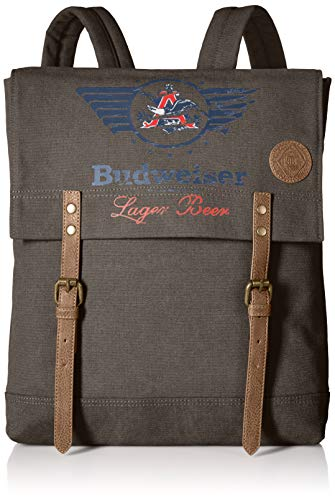 Budweiser by Buxton Men's Eagle Wings Slim Backpack Accessory ()
