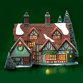 - Dept 56 Lighted Ashbury Inn (#55557, Heritage Village Collection, Dickens Village Series), Retired Collectible