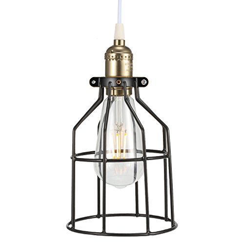 Metal Bulb Guard Cage, Kohree Pendant Lamp Shades Ceiling