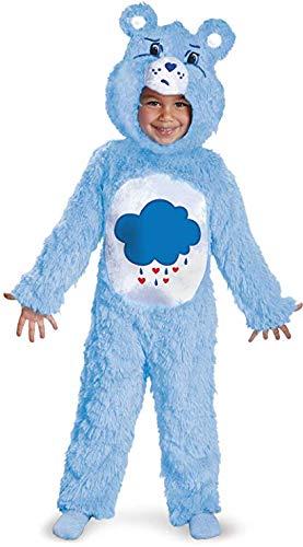 (Care Bears Grumpy Bear Deluxe Costume, Blue/White,)
