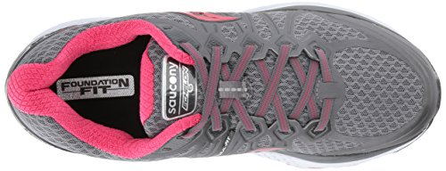 Pink 6 Shoes Echelon Women's Saucony Grey Running YSgAR