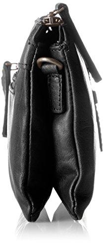 Spikes amp; Black Clutch Noir Pochettes Sparrow T61Twv