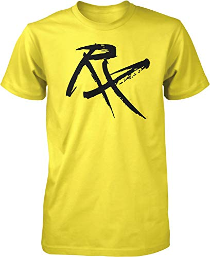 Hoodteez RX Workout Prescription Men's T-Shirt, XXL Yellow