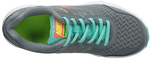 Nike Nya Kvinna Luft Obevekliga 4 Löparsko Cl Grå / Hypr Pnch / Hypr Trq / Vlt