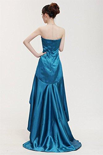 Gr 42 grün Kleid Drasawee Damen Empire 4nwnAt