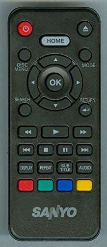 Original Factory New Remote Control NC092UL Compatible for Sanyo FWBP505F FWBP505FK FWBP505FN FWBP505FP FWBP505FQ FWBP506FF FWBP507FF
