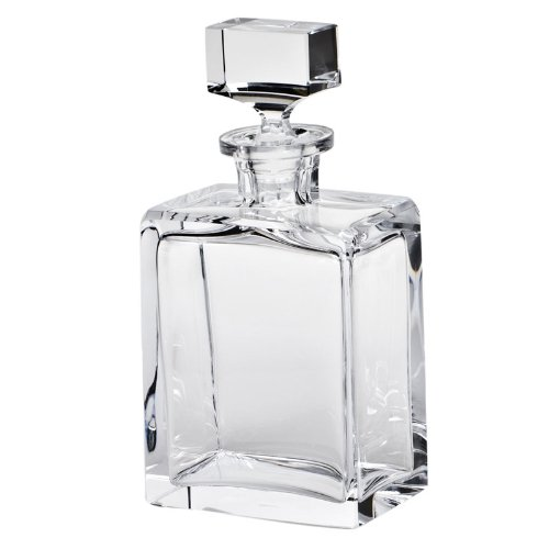 MOSER CRYSTAL DECANTERS Boss decanter 32 oz. cut clear by Moser
