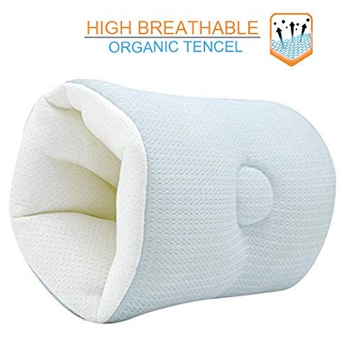 Baby Arm Breastfeeding Nursing Pillow Slip On Ultra Soft Breathable and Lithe Infant Bottle Feeding Head Support for Newborn Ideal for C-Section Tummies. Portable and Washable Arm Cushion