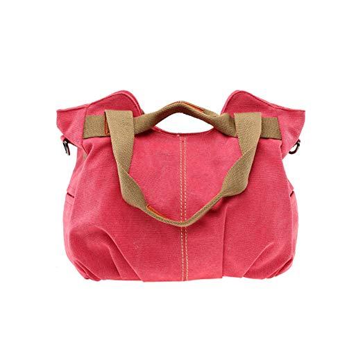 Tracolla Borsa Bag Retrò C Da Donna Borsa D Shopping Messenger Tela Di Borsa A YJIUJIU Casual AqdSAwv