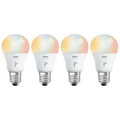 Sylvania Osram Lightify 60W A19 Daylight/ RGB Smart LED Light Bulb (4 Pack)