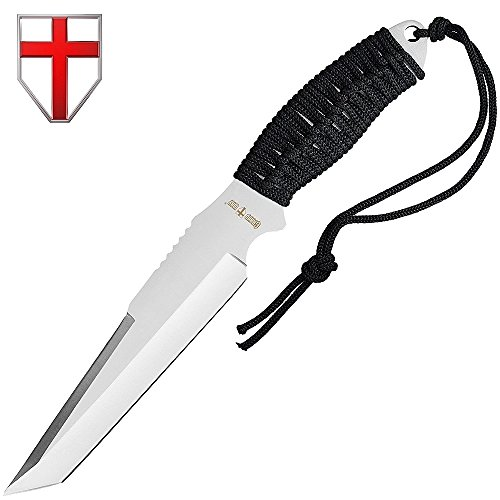 Grand Way Tactical Survival Throwing Paracord Knife - Stainless Steel Blade - Thrower with Black Stylish Handle - Everyday Sports, Fighting and Rescue - Self-Defense and Camping FL 16710 by Grand Way (Image #9)