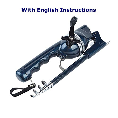 BLISSWILL Fishing Gear Pocket Fishing Rod and Reel Combos