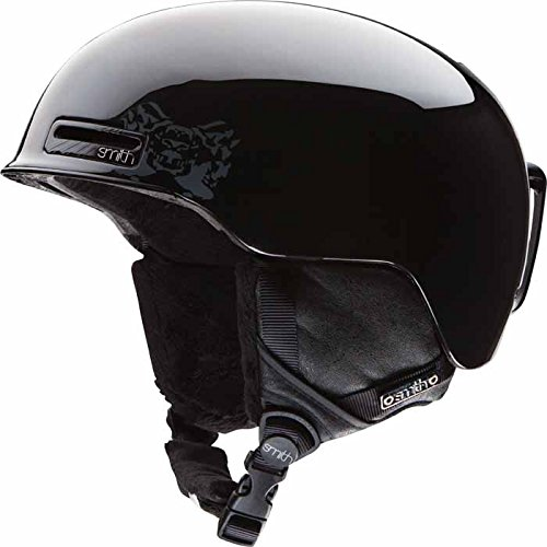 Smith Optics Allure Women's Ski Snowmobile Helmet , Black Discord , Small