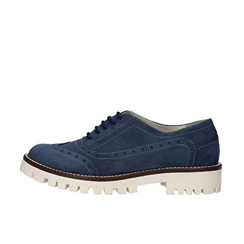 Beige Azul Azul Mujer RUBINI EU 35 Elegantes OLGA Zapatos Gamuza qwFBvqX