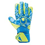 uhlsport Radar Control ABSOLUTGRIP HN Goalkeeper Gloves Size 8 Radar Blue/Fluo