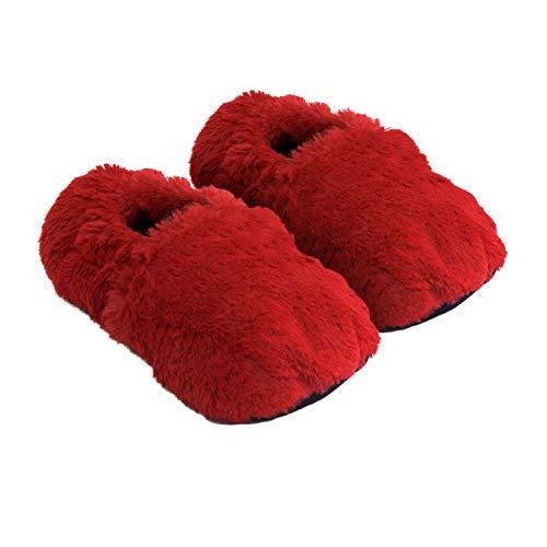 Körner-Sox Pantofole riscaldabili Ciabatte con Semi per microonde e Forno   Amazon.it  Scarpe e borse 2d038077694