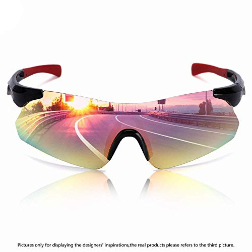 8c3c39ce503 Mens Photochromatic Polarized Sunglasses Outdoor Driving Fishing ...