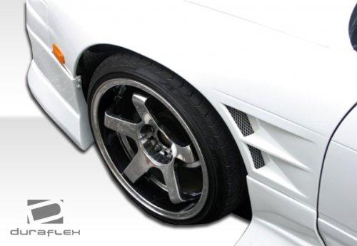 1989-1994 Nissan Silvia S13 Duraflex D-1 Sport Fenders - 2 Piece