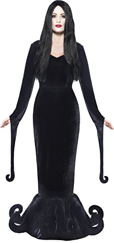 [Smiffy's Women's Duchess of the Manor Costume, Full Length Dress and Hem Detail, Gothic Manor, Halloween, Size 10-12,] (Alien Costume Woman)