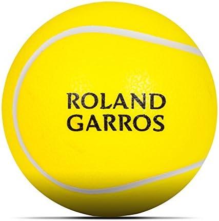 Roland Garros de pelota de tenis relajante – amarillo, amarillo ...