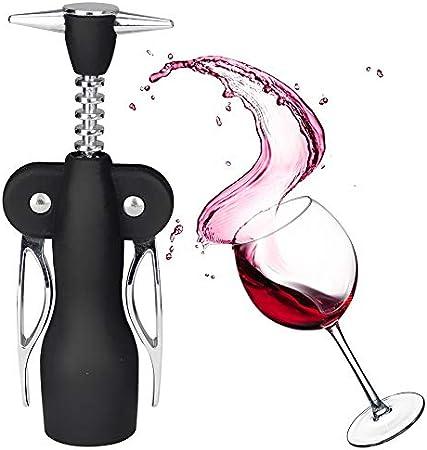 BESLIME Sacacorchos, Abridor de Botellas de Vino, Sacacorchos de Lujo, Multifunción Sacacorchos para Botellas Acero Inoxidable Abrebotellas de Vino para Los Amantes del Vino o Camareros