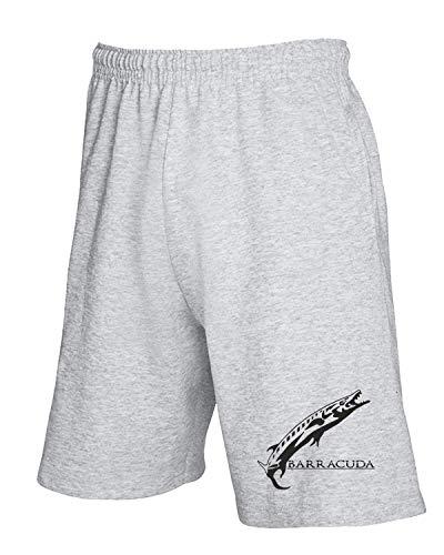 Pantaloncini T 99242 shirtshock Tuta Fun1200 08 Fishing Grigio 7Zv7axw