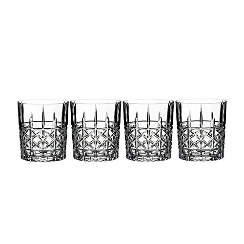 Cut Double Old Fashioned - Marquis Brady DOF 11 Ounce Set/4