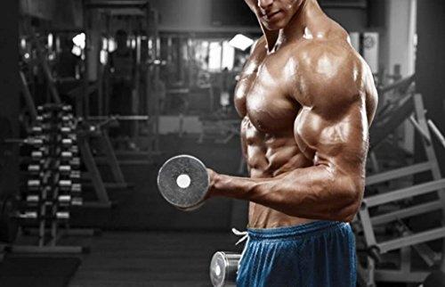 Natural bodybuilding supplements - GERMAN CREATINE CREAPURE POWDER - PRE & POST WORKOUT - German creatine monohydrate - 1 Can 500 Gramm (100 Servings)