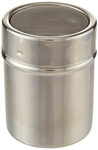 Fat Daddio's Stainless Steel Mesh Sifter/Dredger, 6-Ounce Capacity by Fat Daddios