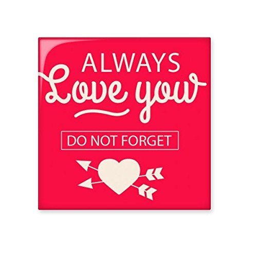 high-quality Valentine's Day Always Love You Do Not Forget Pink Heart Arrows Illustration Pattern Ceramic Bisque Tiles for Decorating Bathroom Decor Kitchen Ceramic Tiles Wall Tiles