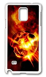 Adorable Exploding Planet Hard Case Protective Shell Cell Phone Ipod Touch 5 - PC White