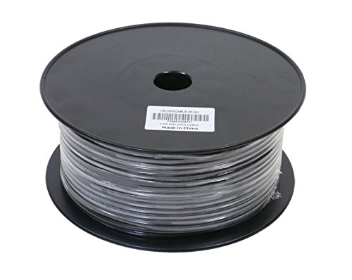 Elite Core VRLDMXCABLE-3P-300 VRL and 3 Pin DMX Cable 300-Feet Bulk Spool (Dmx Bulk Cable)