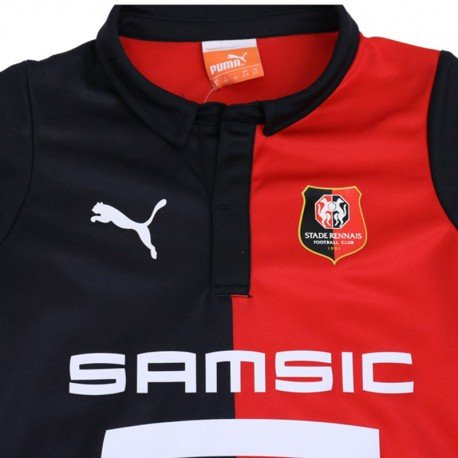 Garçon Rouge Rennais Stade Bébé Fc Football Rnr Minikit Puma wzZx0A0B
