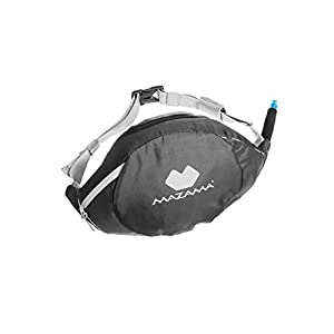 Mazama Sidestream Go, 1.3 Liter Running Hydration Pack with Retracting Drink Tube