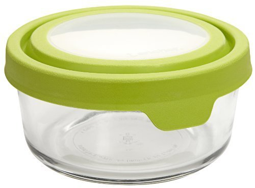 Anchor Hocking 91688 4 Cup Round TrueSeal Glass Storage Container by Anchor Hocking